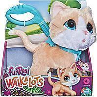 Котёнок интерактивный на поводке Furreal Friends WalkaLots