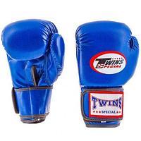 Боксерские перчатки Twins Flex, 4 унций, кожзам.