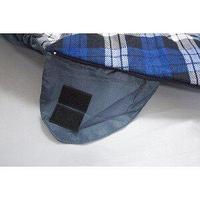 Спальник кокон 190*30*80см синий 200г/м2 холофайбер / 202056S