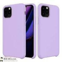 Чехол на телефон Сиреневый Silicone Case iPhone 12 6.7