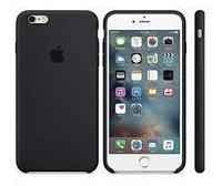 Чехол на телефон Черный Silicone Case iPhone 6+/6S+