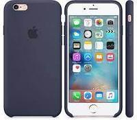 Чехол на телефон Темно-Синий Silicone Case iPhone 6/6S