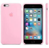 Чехол на телефон Розовый Silicone Case iPhone 6/6S