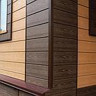 Сайдинг из ДПК (фасадная панель) 180х14мм, Цвет: Венге, фото 3