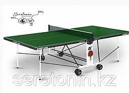 Теннисный стол Compact LX green с сеткой