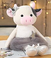 "Плюшевая игрушка ""Корова балерина"""