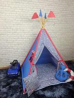 Детская палатка вигвам 4х гранный Моряк