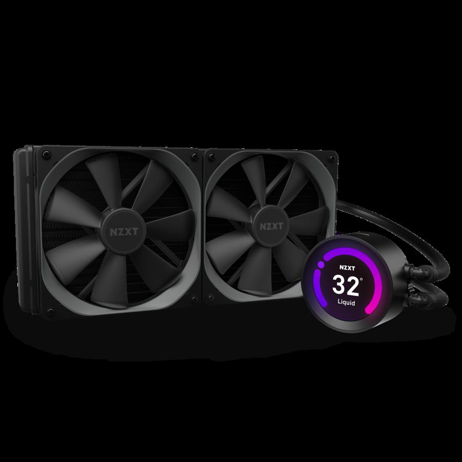 "Водяное охлаждение для CPU NZXT KRAKEN Z63 AIO Liquid with 2.36"" Displey Soc. Intel/AMD RL-KRZ63-01"