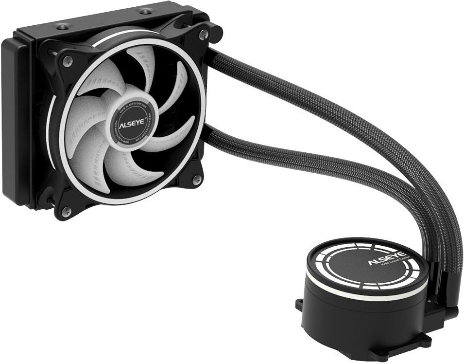 Вентилятор для процессора ALSEYE Halo H120 1.0  RGB  120 мм  H120 1.0  RTL  H120 1.0