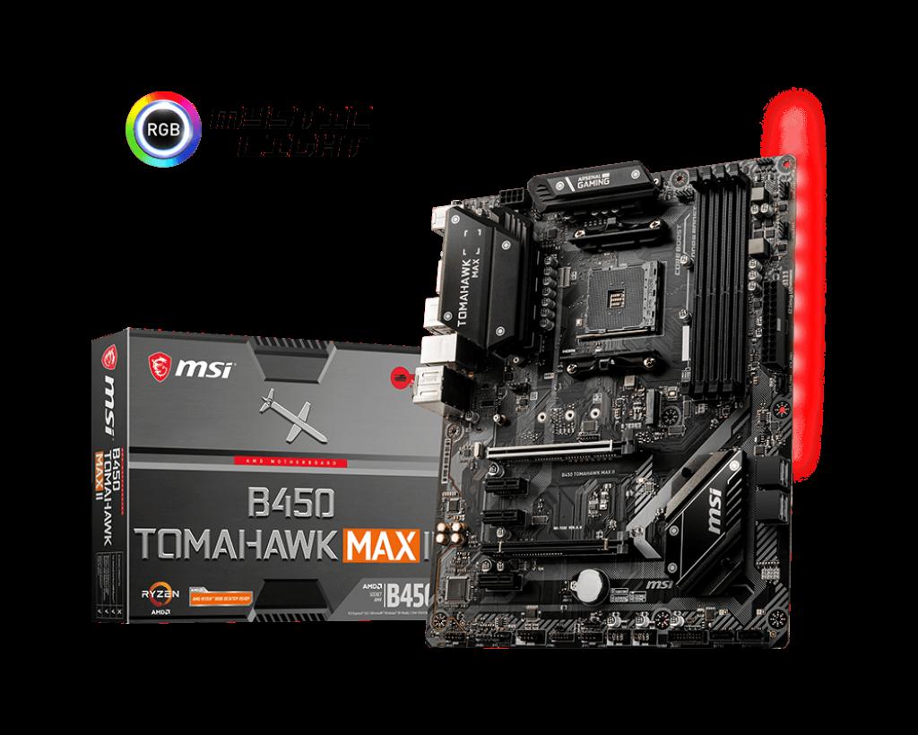 Материнская плата MSI B450 TOMAHAWK MAX II AM4