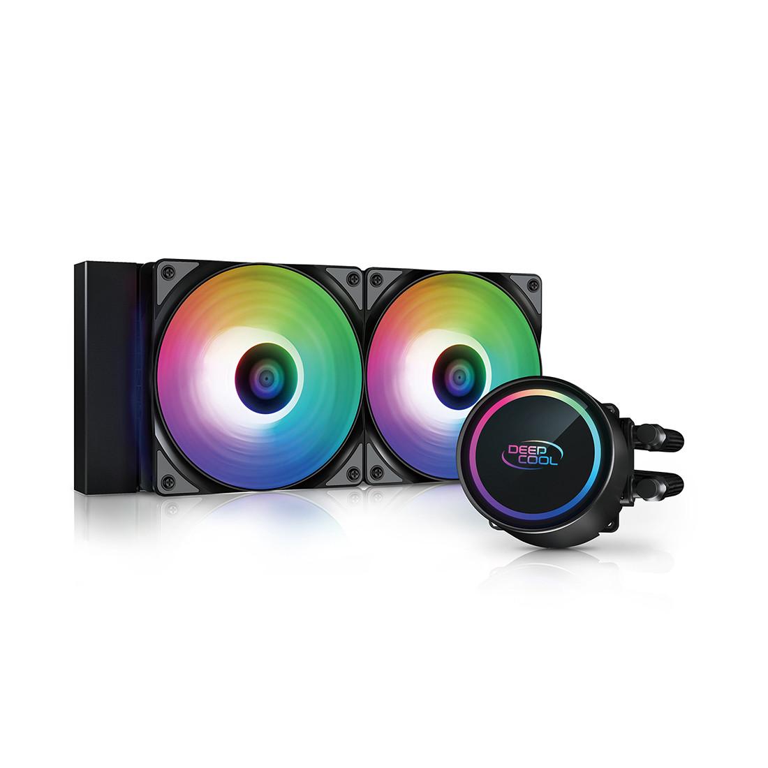 Кулер с водяным охлаждением, Deepcool, GAMMAXX L240 A-RGB , DP-H12CF-GL240-ARGB