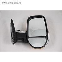 Зеркало боковое на ГАЗЕЛЬ 3296 желтое, правое, с повторителем поворота и габаритом, 1 шт.