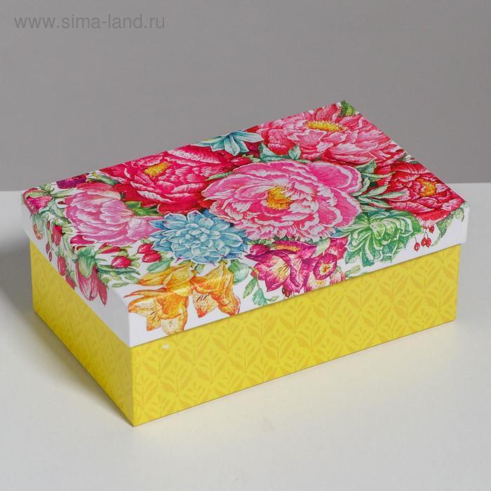 Набор подарочных коробок 10 в 1 «Цветы», 32.5 × 20 × 12.5 12 × 7 × 4 см - фото 6