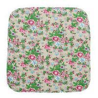 Чехол на стул с завязками 'Полевые цветы', 35х38 см, бязь