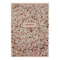 Тетрадь А4, 48 листов в клетку Terracotta, обложка мелованный картон, выборочный лак, блок офсет