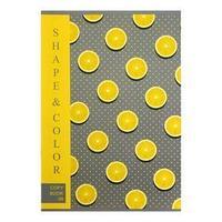 Тетрадь А4, 48 листов в клетку Lemon Style, обложка мелованный картон, блок офсет