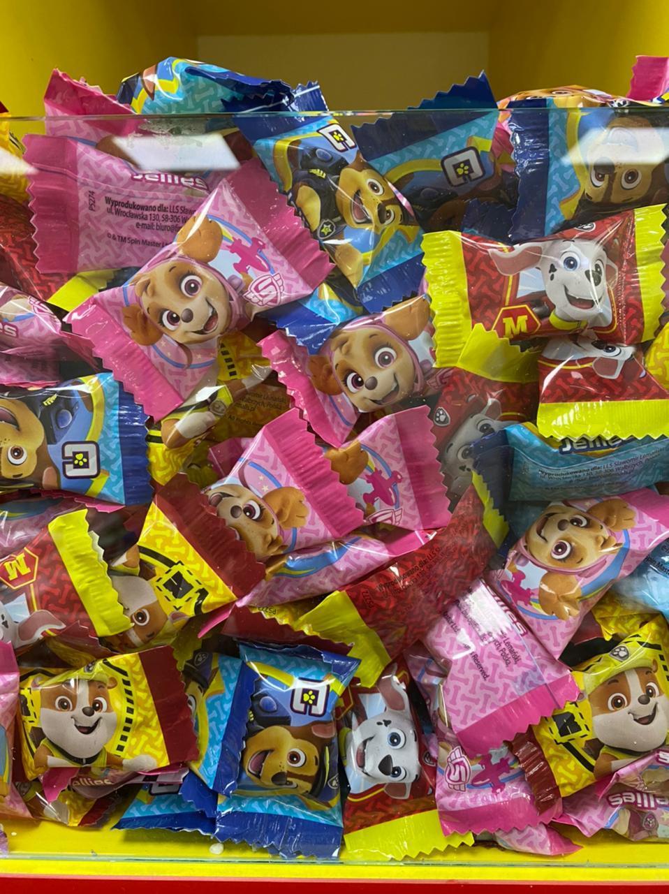Мармеладные конфеты Щенячий патруль   1кг