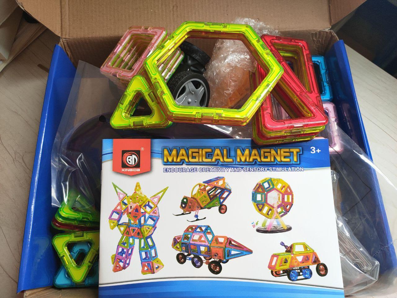Конструктор Magical Magnet 71 pcs - фото 2