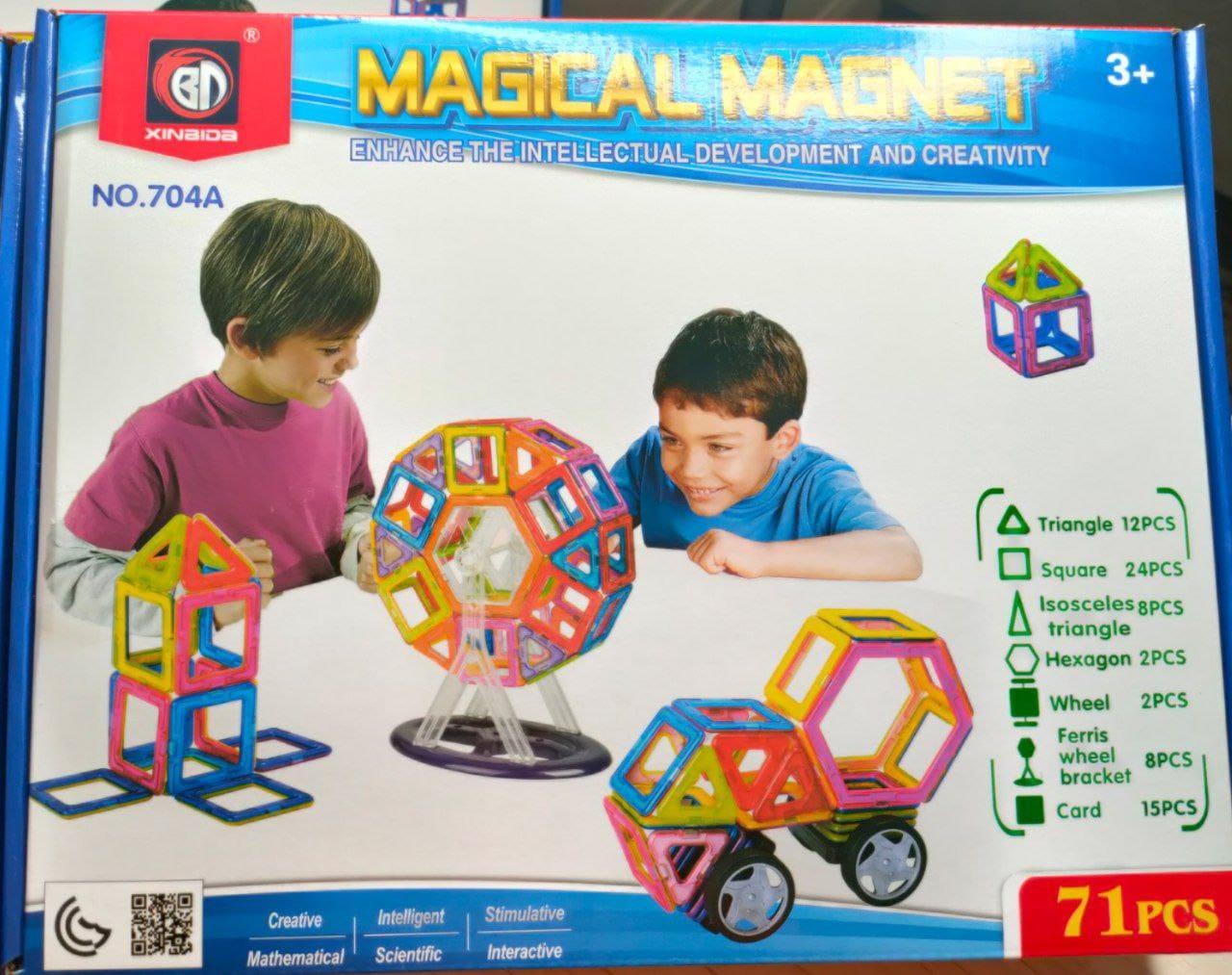 Конструктор Magical Magnet 71 pcs - фото 1