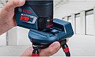 Комбинированный лазерный профессиональный нивелир Bosch GCL 2-50C+RM2+BM3+12V+LBOXX. Внесен в реестр СИ РК, фото 8