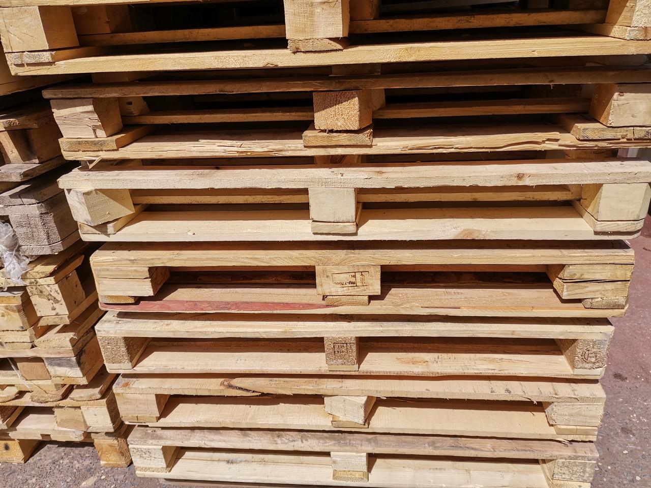Поддоны (паллеты) деревянные 1200*800, б/у в хор состоянии, цена с НДС, документы