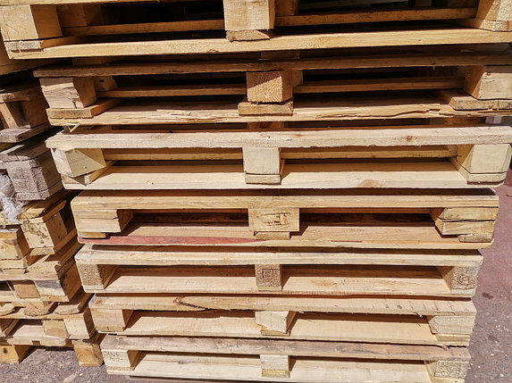Поддоны (паллеты) деревянные 1200*800, б/у в хор состоянии, цена с НДС, документы, фото 2