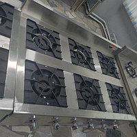 Газовая плита 6 конфорочная