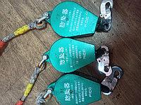Блокирующее инерционное устройство для страховки втягивающего типа (Инерционная катушка ЗУС)