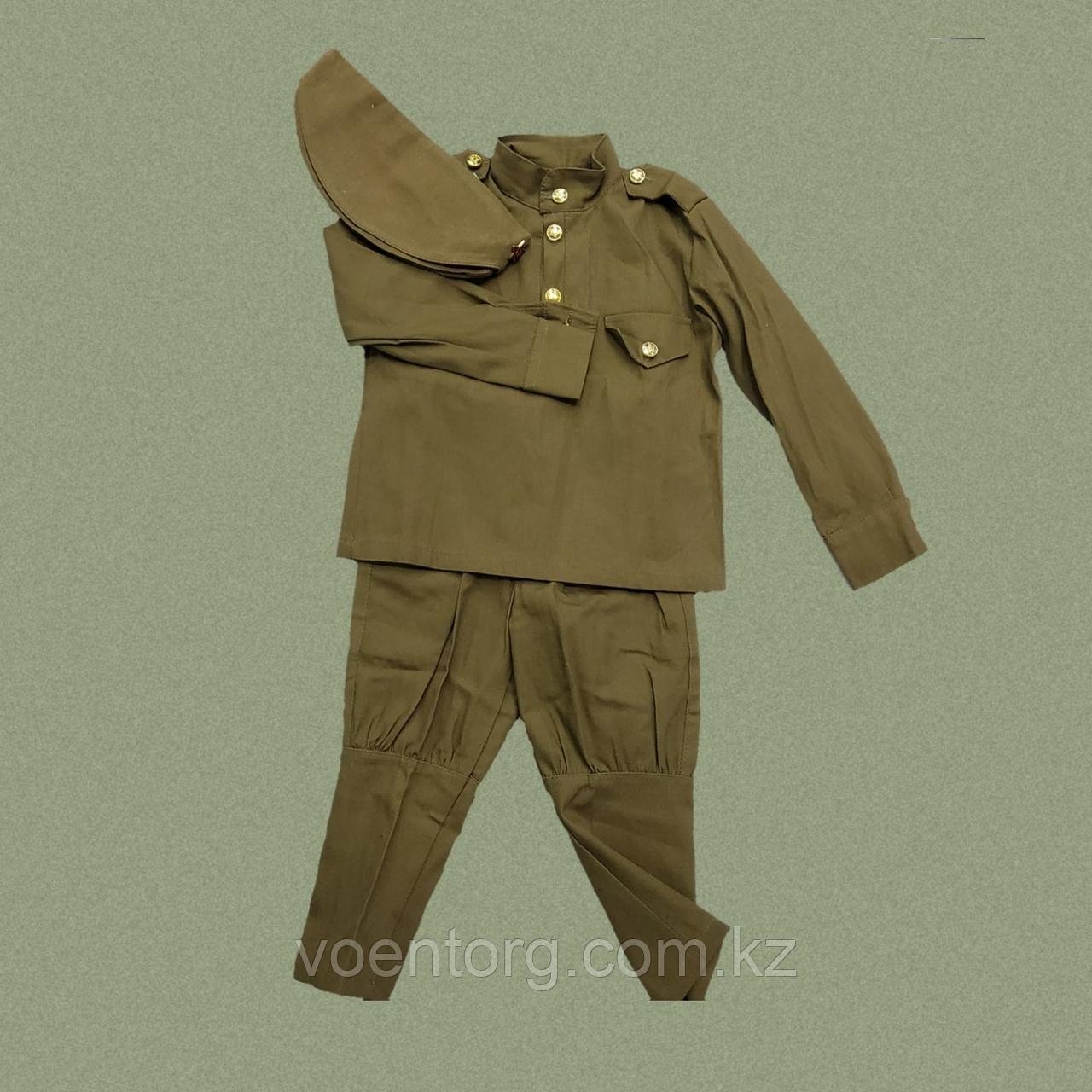 Детский военный костюм для мальчика - фото 1