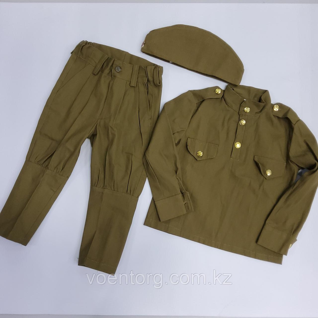 Детский военный костюм для мальчика - фото 2