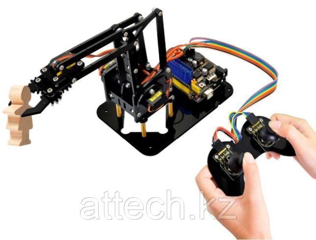 4DOF Комплект механического манипулятора робота для Arduino DIY