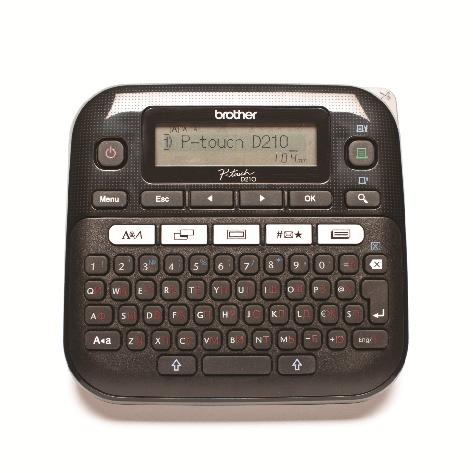 Принтер маркиратор Brother серия P-Touch  PT-D210 (печать на 6, 9,12мм лентах), фото 2