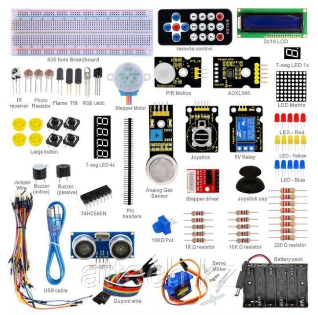 Расширенный набор для Новичков в Arduino (с микроконтроллером Mega2560 R3)