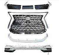 Аэродинамический обвес HERITAGE на Lexus LX570/450d 2016-2021 Дизайн 2021 Белый жемчуг, фото 1