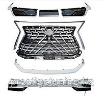 Аэродинамический обвес HERITAGE на Lexus LX570/450d 2016-2021 Дизайн 2021 Белый жемчуг