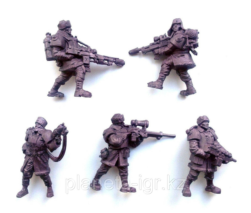 Набор солдатиков Гвардейцы, Битвы Фентези, Технолог - фото 2