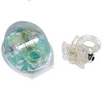 Виброкольцо прозрачный 7 Speed Butterfly Cock Ring
