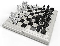 """Шахматы"" в серой пластиковой коробке (блистер), фото 1"