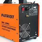 Полуавтомат сварочный инверторный Patriot WMA 225MQ MIG/MAG/MMA, фото 7