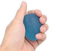 Мяч для тренировки кисти яйцевидной формы