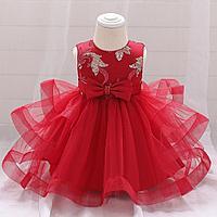Платье  для тусау кесу красное