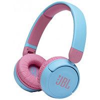 Гарнитура накладные JBL JR 310 BT беспроводные bluetooth, синий-розовый (JBLJR310BTBLU)