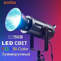 Осветитель светодиодный Godox SZ150R RGB студийный, фото 1