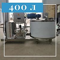 Охладитель молока вертикального типа 400 литров