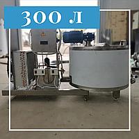 Молочный открытый охладитель вертикальный 300 литров