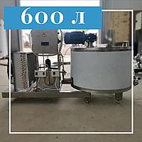 Охладитель молока нержавеющий открытый 600 литров