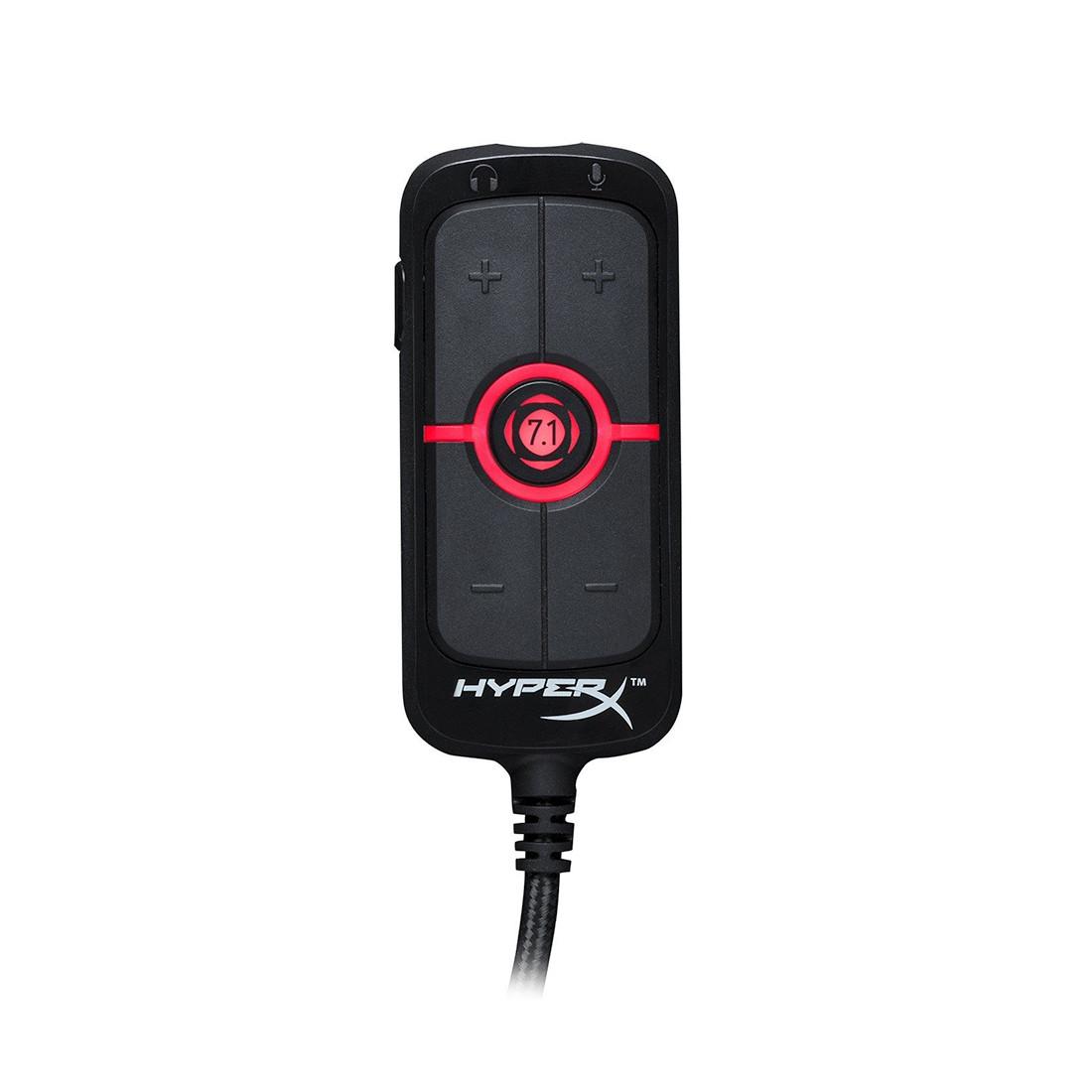 Звуковая карта для наушников HyperX HX-USCCAMSS-BK Amp USB 7.1