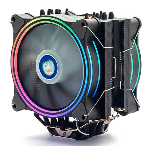 Вентилятор для процессора ALSEYE H120D Universal, RGB, 120 мм, 4-pin, Rifile, H120D, OEM  H120D