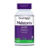 БАД Мелатонин, 1 мг (180 таблеток) Natrol
