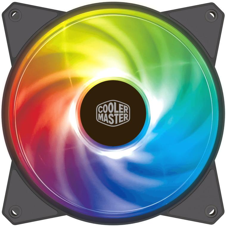 Вентилятор для корпуса CoolerMaster Master Fan Addressable 120R RGB R4-120R-20PC-R1